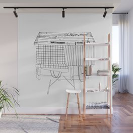 Laundry Wall Mural