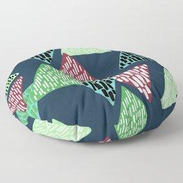 Trendy Triangle Pattern Floor Pillow
