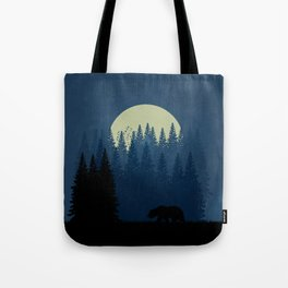 Wilderness at night Tote Bag