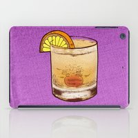 drink iPad Cases featuring DRINK  by MR VELA