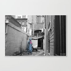 Unseen Monsters of Melbourne - Teddy Wisdom Canvas Print