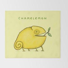 Chamelemon Throw Blanket