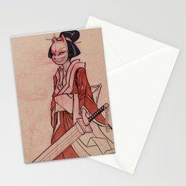 Kitsune Mask Stationery Cards