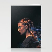 sansa stark Stationery Cards featuring Amethyst by Alice X. Zhang