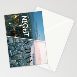 NIGHT & DAY Stationery Cards