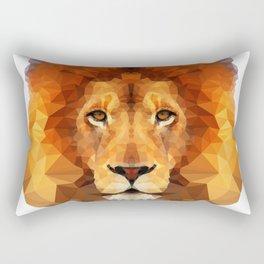 Lion head Rectangular Pillow