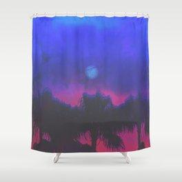 MIDNIGHT RAGE Shower Curtain