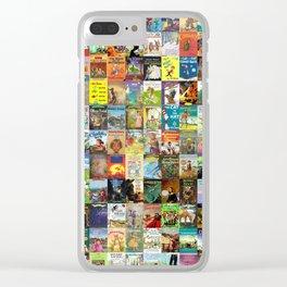Children's Books Clear iPhone Case