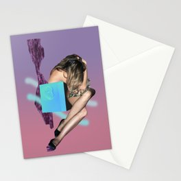 No one but time to devour this body Stationery Cards