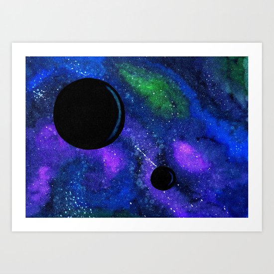 The Dark Worlds Art Print
