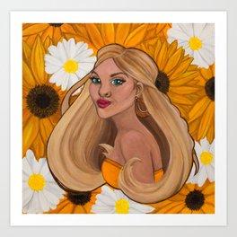Emmie Bloom Art Print