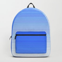 Sky Blue White Ombre Backpack