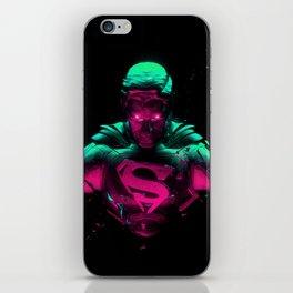 Man Of Steel 4 iPhone Skin