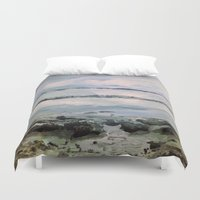 maine Duvet Covers featuring Maine by Samantha Crepeau