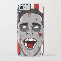 mcfreshcreates iPhone & iPod Cases featuring Psycho Americana by McfreshCreates