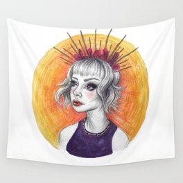 Queen Ray Wall Tapestry