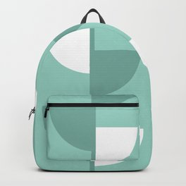 Pastel Green Slices in The Summer Shade Backpack