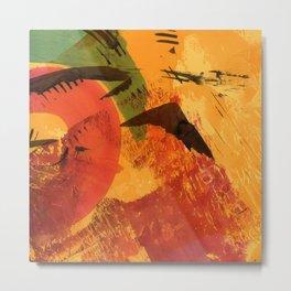abstract 61 Metal Print
