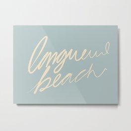 Longueuil Beach Metal Print
