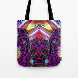 BBQSHOES: Fractal Digital Art Design 3114b Tote Bag