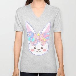 Fairy Kei Decora Bunny Unisex V-Neck