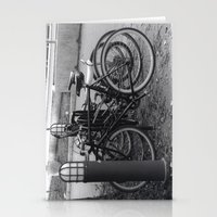 bikes Stationery Cards featuring Bikes by Ashley Simbulan