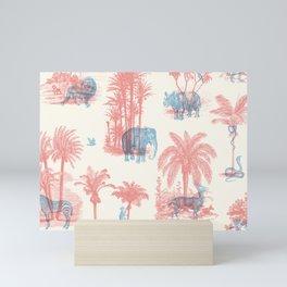 Where they Belong - Pastel Colors Mini Art Print