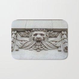 Architectural Lion Bath Mat