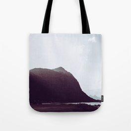 Sunlit Mountains - Waimanalo, Hawaii Tote Bag