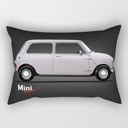 The Mini Cooper Rectangular Pillow
