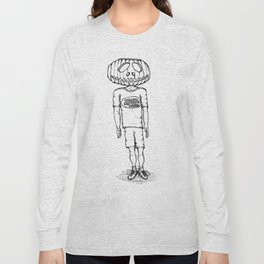 Happy Halloween (B & W) Long Sleeve T-shirt