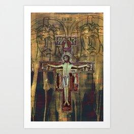 Crucifixion Art Print