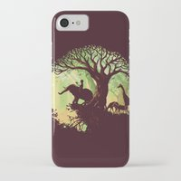 jungle iPhone & iPod Cases featuring The jungle says hello by Picomodi