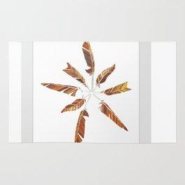 Feather Mandala Rug