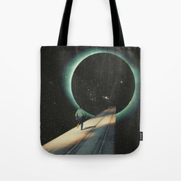 Escaping into the Void Tote Bag