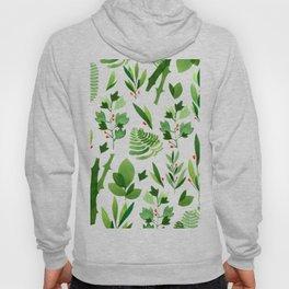 green nature plants Hoody