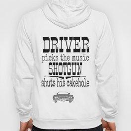 Driver picks music Hoody
