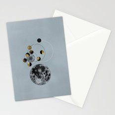 Blue Moon Stationery Cards