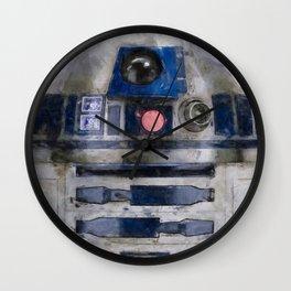 R2D2 Droid Robot StarWars Wall Clock
