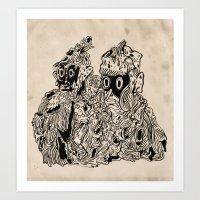 Slimezaka Art Print