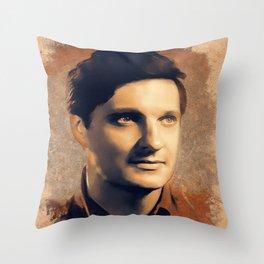 Alan Alda, Hollywood Legend Throw Pillow