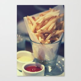 At the Diner Canvas Print
