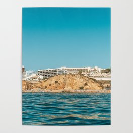 People On Lagos Beach Of Algarve In Portugal, Travel Photo, Large Printable Photography, Ocean Wall Poster