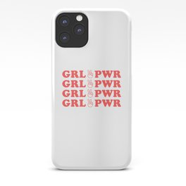 GRL PWR - feminist - feminism iPhone Case