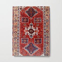 Sivas Central Anatolian Rug Print Metal Print