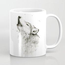 Wolf Howling Coffee Mug