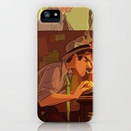 Foot in the Door iPhone Case