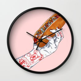 Bacon Me Crazy Wall Clock