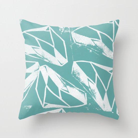 Geometric Pattern 2 Throw Pillow