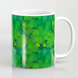 lucky Shamrock - Clovers All Over Coffee Mug
